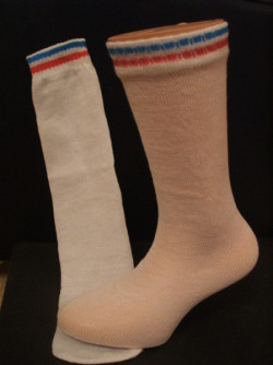 Blue Box Socks - Disposable Tube Socks