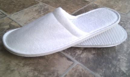 Blue Box Socks - Closed Toe Towelling Slippers