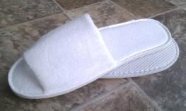 Blue Box Socks - Open Toe Towelling Slippers