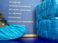 Blue Box Socks - Disposable Overshoes & Blue Box GB Carton