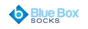 Blue Box Socks Logo
