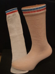 Blue Box Socks - Disposable One-Size-Fits-All Tube Socks