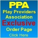 Play Providers Association Order Page - Blue Box Socks